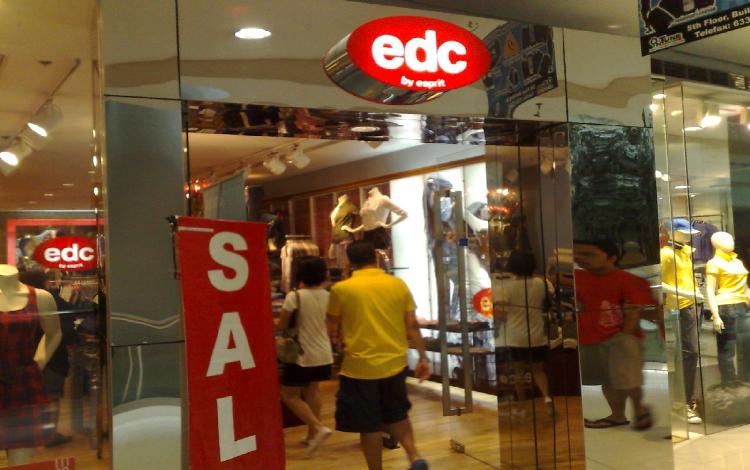EDC by Esprit (SM Megamall)   Ortigas Online d1ae499b2049